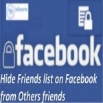 How To Hide Friends List On Facebook From Others Friends