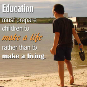 What's the purpose of education in the 21st century