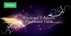 hack windows 7 password without software