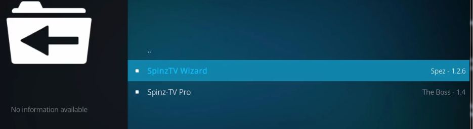 how to SpinzTV Wizards