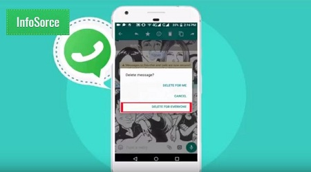 WhatsApp feature delete for everyone