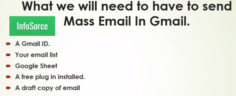 send bulk email from Gmai free