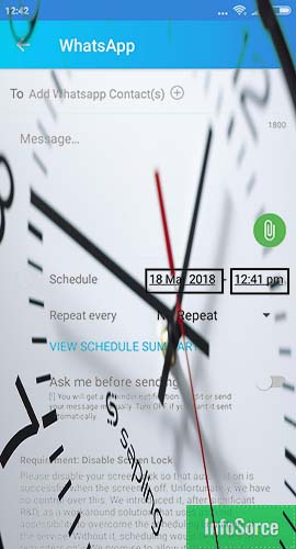 How To Schedule Text Messages For Whatsapp! Latest Update