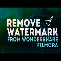 remove filmora watermark crack