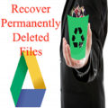 how to retrieve deleted files from google drive