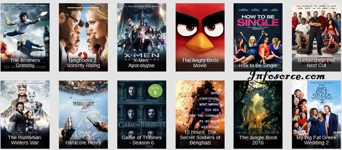 free movie download app