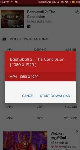Hotstar video download