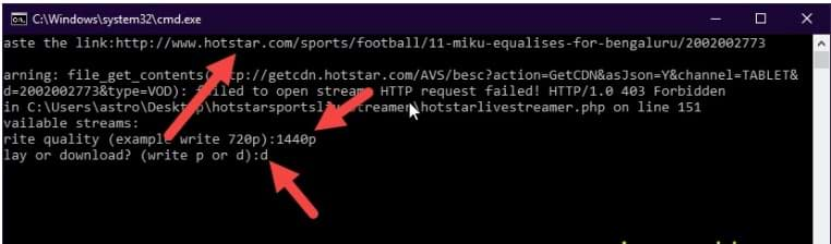 downloader Hotstar video