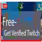 get verified on Twitch account